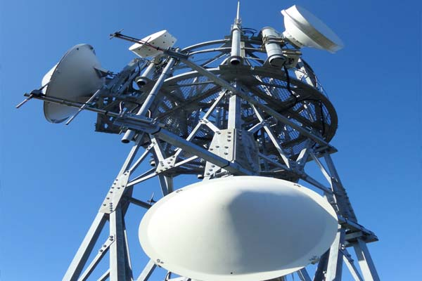 microwave tower, electromagnetic radiation